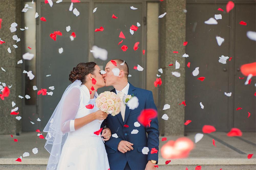 Kamila i Łukasz – fotoreportaż z dnia ślubu