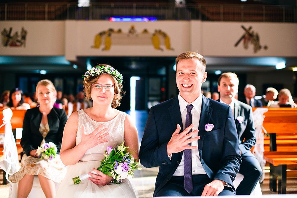 Ślub Kasi i Macieja, czyli ceremonia malowana światłem