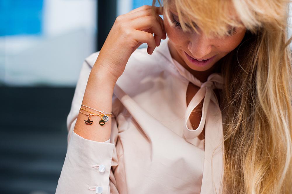 Sesja lookbook dla biżuterii Milat