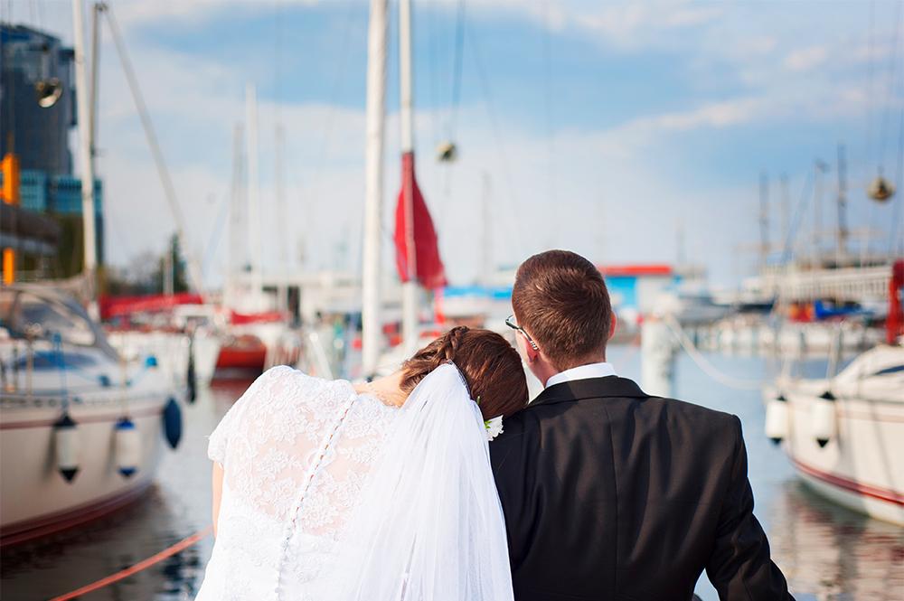 Morskie opowieści – sesja ślubna Kasi i Krzysztofa