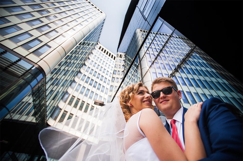 W nowojorskim stylu – sesja ślubna Gosi i Łukasza