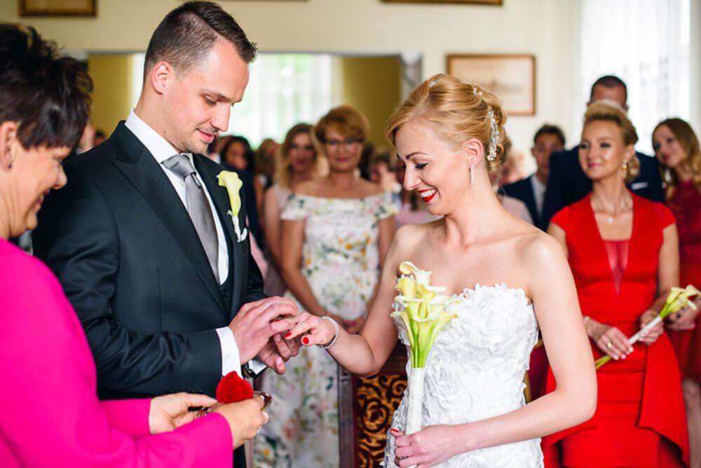 Ślub Pauliny i Michała / Hotel Spichrz w Borczu
