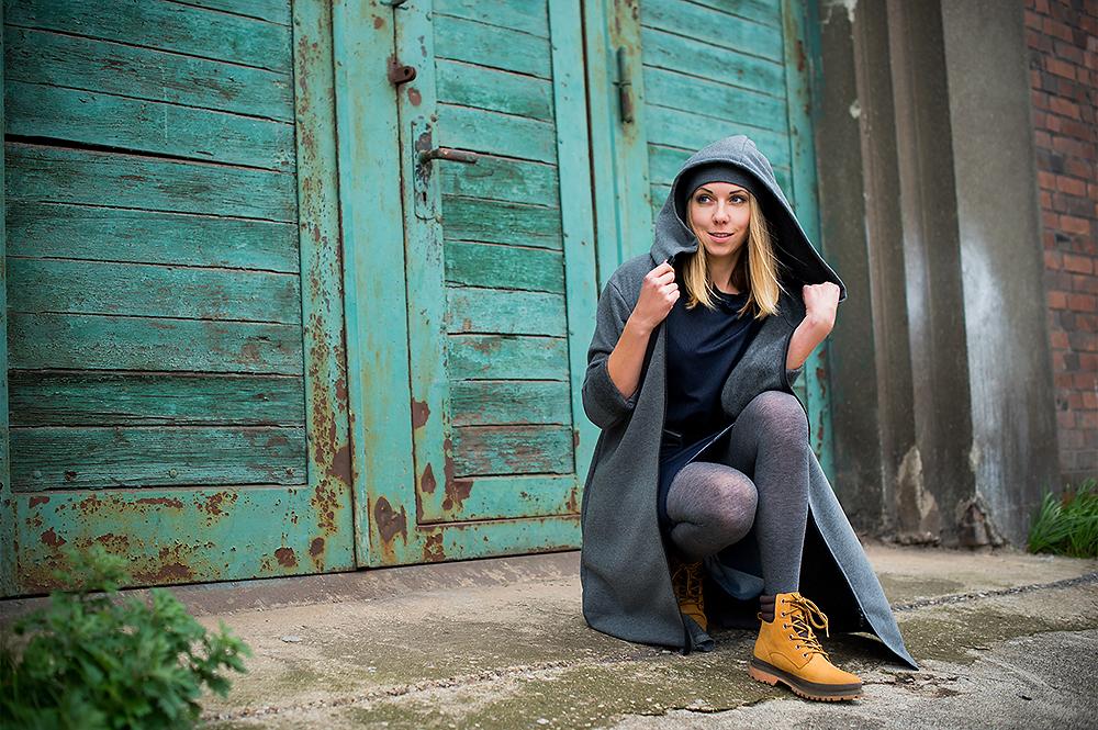Sesja lookbook dla polskiej marki odzieżowej Tutte