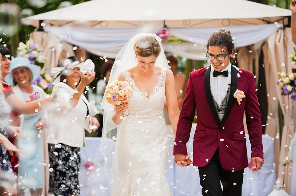 Martyna i Alex – plenerowy ślub humanistyczny